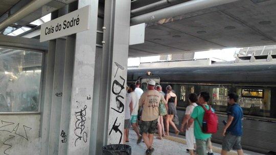 Cais do Sodre駅