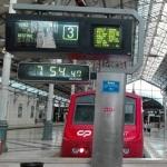 リスボン シントラ行き電車
