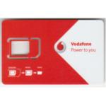 Vodafone ポルトガル SIMフリー用データSIMカード