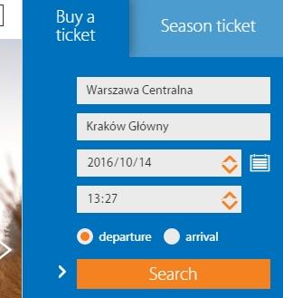 ワルシャワ クラクフ 鉄道 時刻表 料金