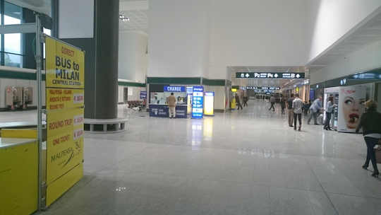 ミラノ・マルペンサ空港
