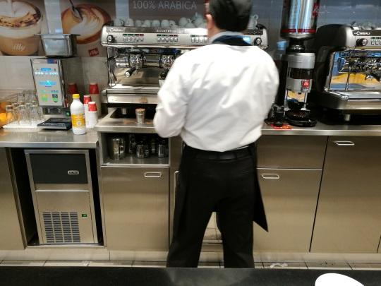 ミラノ マルペンサ空港 お勧めカフェ
