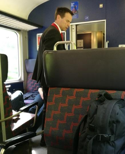 スイス鉄道 検札
