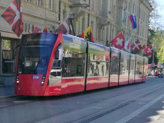 ベルン トラム バス