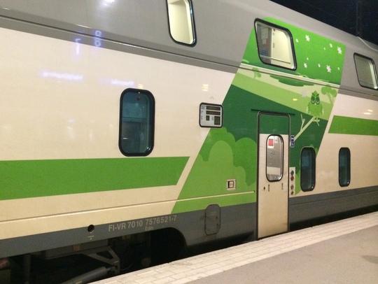 フィンランド国鉄 サンタクロース・エクスプレス