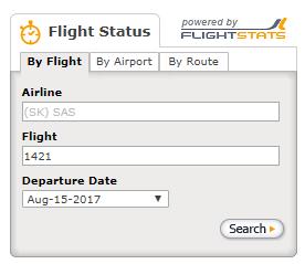 カンジナビア航空:SAS 航空券 予約