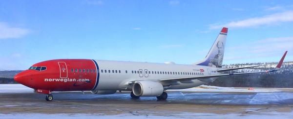 ノルウェー・エアシャトル Norwegian air チケット予約