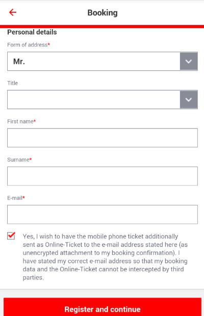 ドイツ鉄道DB チケット予約 アプリ DB Navigator
