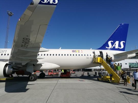 スカンジナビア航空 SAS フライト