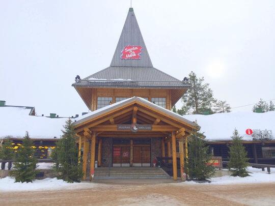フィンランド ロヴァニエミ サンタクロース村