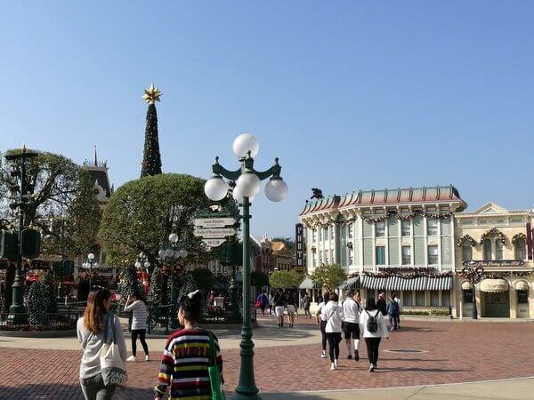 香港ディズニーランド メインストリート U.S.A.