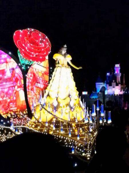 香港ディズニーランド ペイント・ザ・ナイト