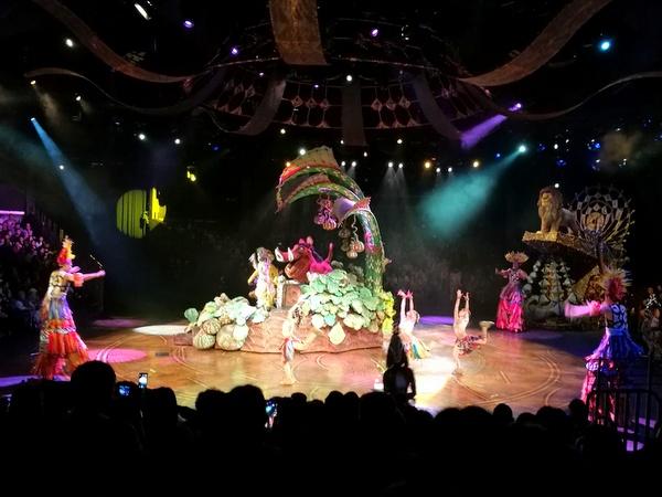 香港ディズニーランド フェスティバル・オブ・ザ・ライオンキング
