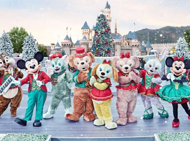 香港ディズニーランド クリスマス