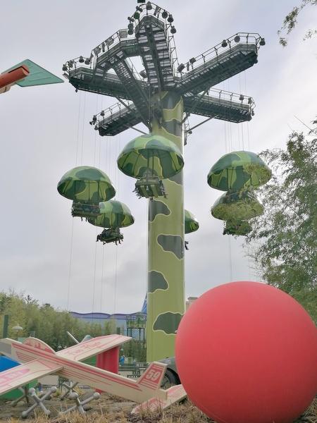 トイ・ソルジャー・パラシュート・ドロップ(Toy Soldiers Parachute Drop