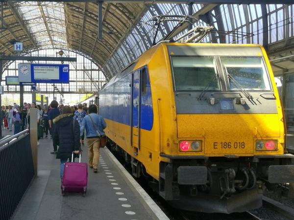 オランダ鉄道 NS 切符 駅 窓口