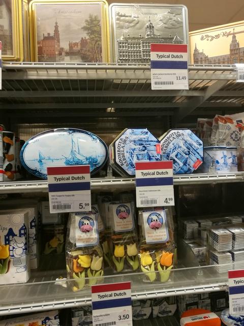 アムステルダム スキポール空港 スーパーマーケット お土産