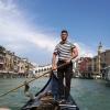 ヴェネツィア:カナル グランデ 乗合ゴンドラ