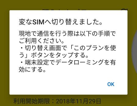 変なSIM