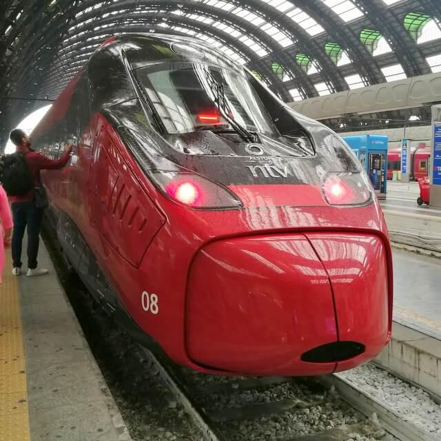 イタリア 鉄道 トレニタリア イタロ ローマ フィレンツェ ベネチア ナポリ ミラノ