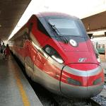 ローマ ヴェネツィア 鉄道 イタロ フレッチャロッサ