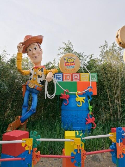 ディズニー・ピクサー トイ・ストーリー・ランド Disney Pixar Toy Story Land