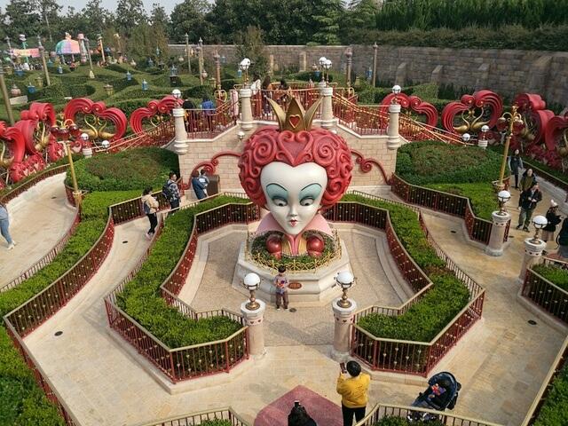 Alice in Wonderland Maze アリス・イン・ワンダーランドの迷宮
