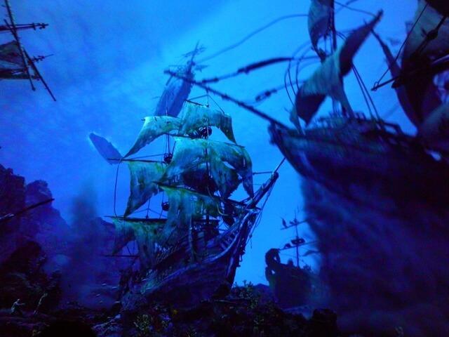 上海ディズニーランド カリブの海賊:バトル・フォー・ザ・サンケン・トレジャー