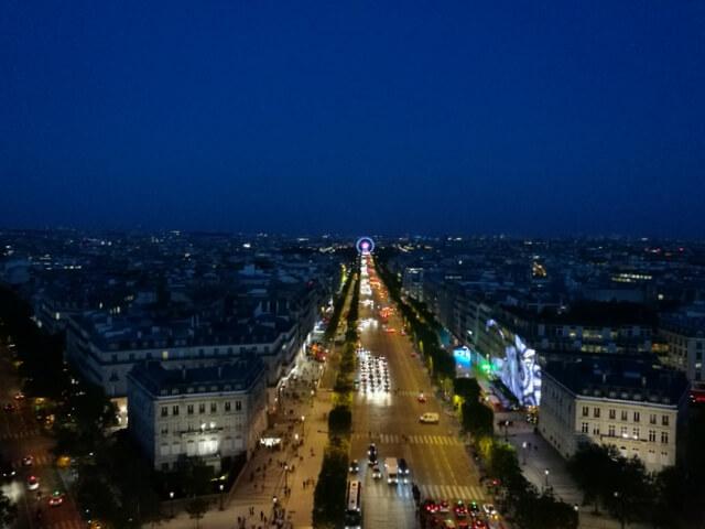 凱旋門 Arc de triomphe de l'Étoile パリ